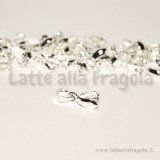 Portapendente in rame Silver Plated 15x5mm