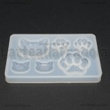 Stampo in silicone Cats Lovers lucido 7.8x4.8cm
