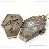 Orologio con collana Nightmare Before Christmas 5x3.5cm