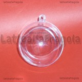 Sfera in Plexiglass trasparente 60mm