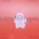 Stampo Gingerbread in silicone lucido 15x18mm